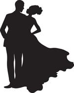 Engagements/Weddings silhouette